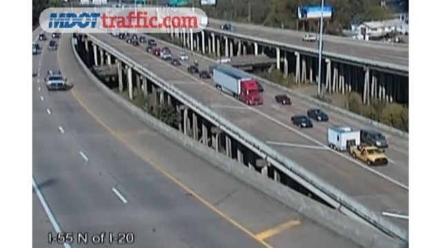 UPDATE: Accident cleared at I-55 ramp to I-20