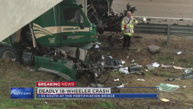Deadly 18-wheeler accident on I-55 South