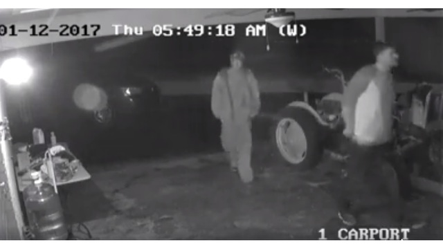 Pike County looking for burglary suspects