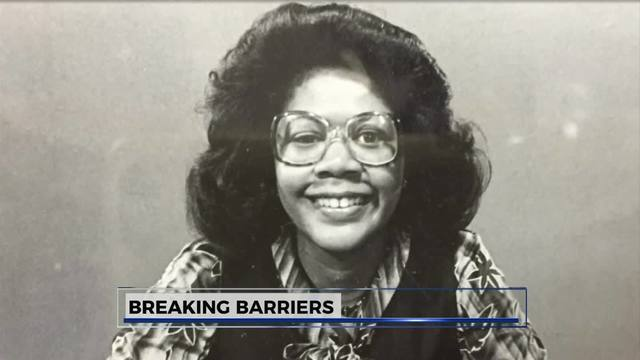 Breaking Barriers: Dr  Elayne Anthony discusses being 1st