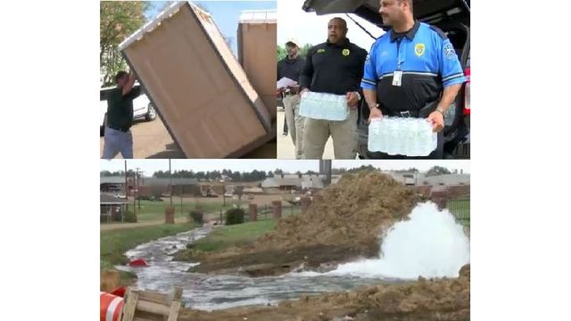 The Latest: Jackson Water Outage