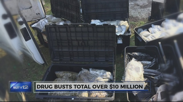Jones County Sheriff's Department collects over $10 million in narcotics