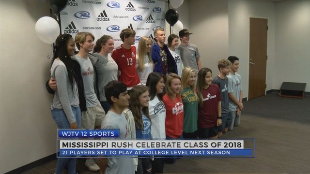 mississippi rush celebrate class of 2018