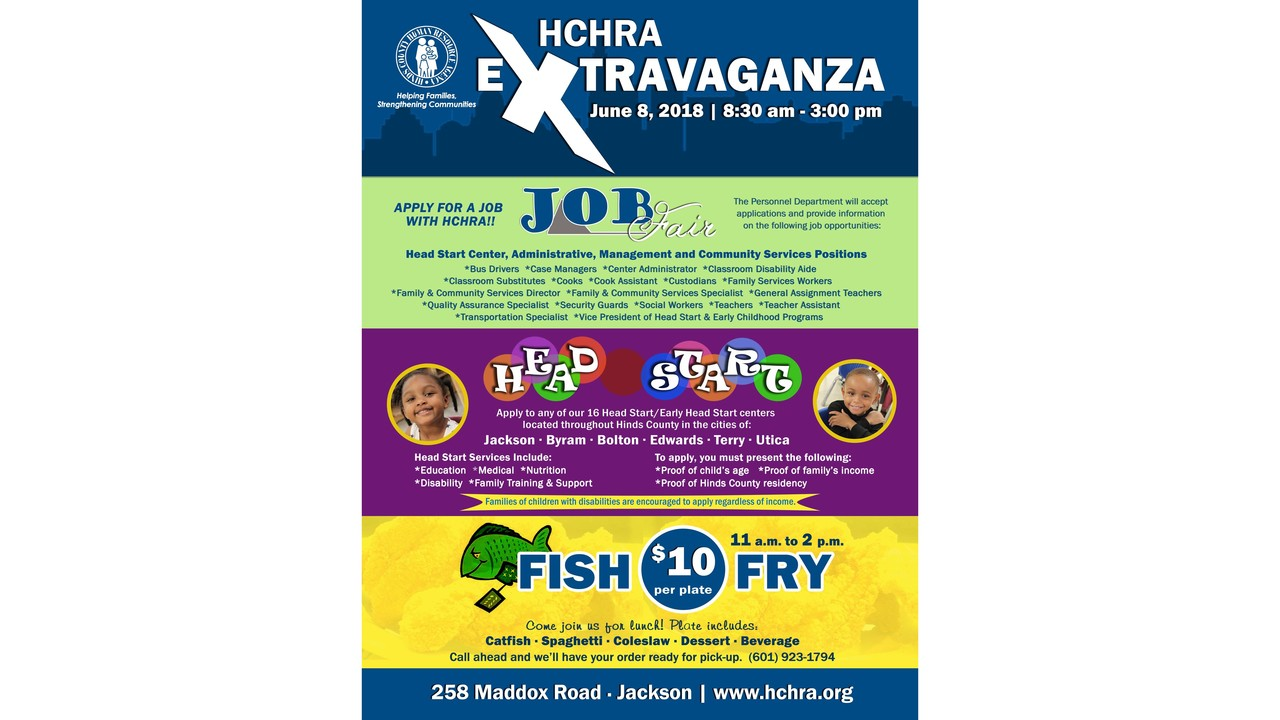 Hinds County Human Resource Agency To Hold Annual Job Extravaganza