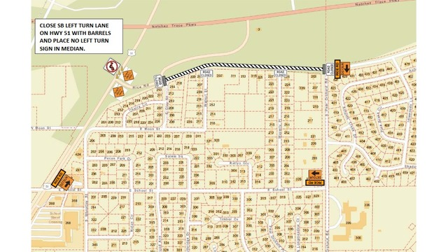 TRAFFIC ALERT: Rice Road to close for construction