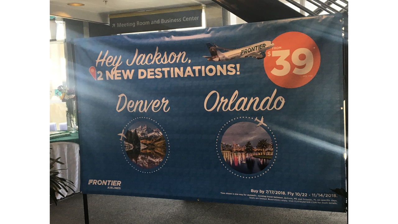 frontier airlines jackson ms