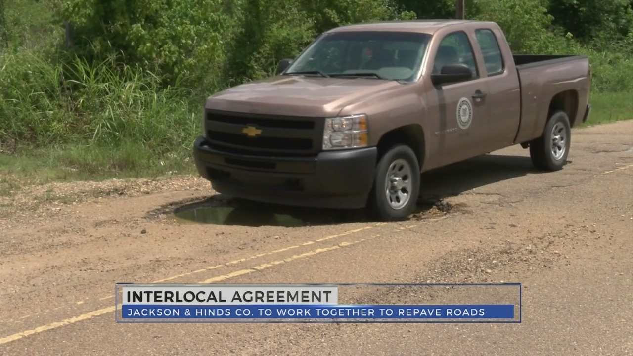 Jackson Enters Into Interlocal Agreement With Hinds County To Repave
