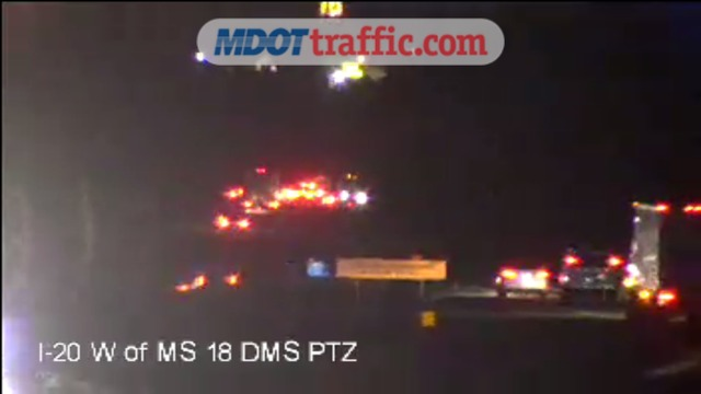 TRAFFIC ALERT: Accident on I-20 W  past Highway 18 in Jackson