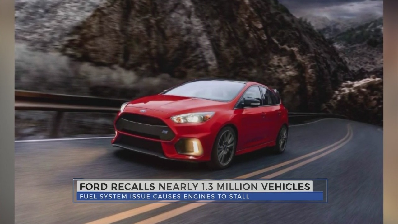 Ford recalls more than a million cars