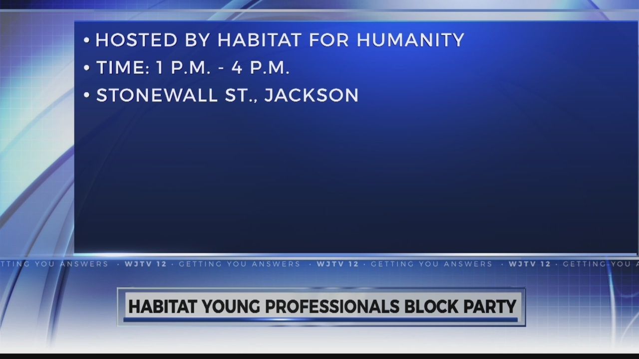 Habitat Young Professionals Is Will Hold A Block Party In