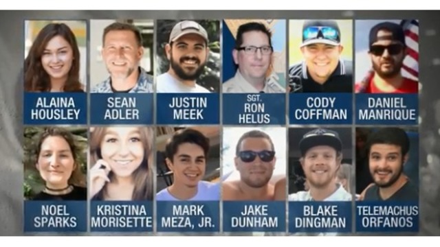 Las Vegas shooting survivors among victims in Thousand Oaks massacre