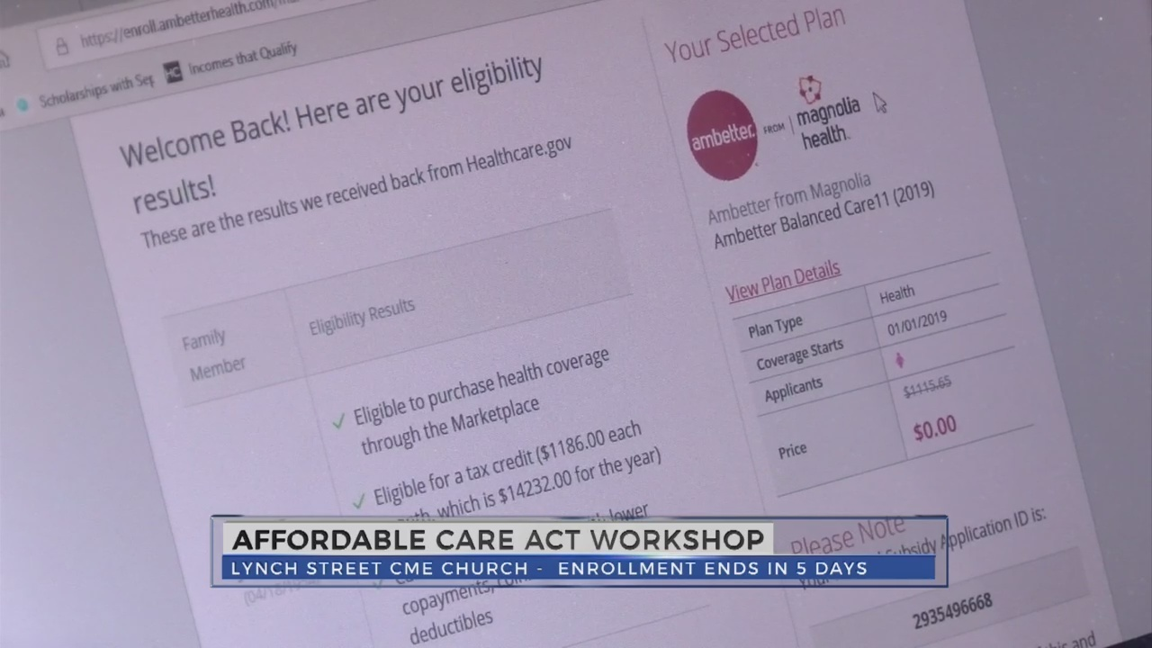 Enrollment Ends This Weekend For The Affordable Care Act