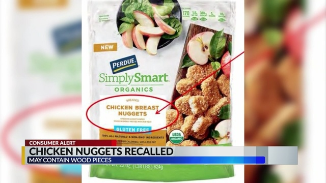 Chicken Nuggets Recalled By Perdue Foods