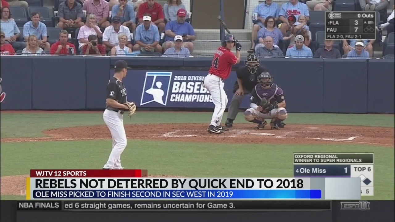 4c8eb16d6d7 Ole Miss baseball not deterred by quick end to 2018 season