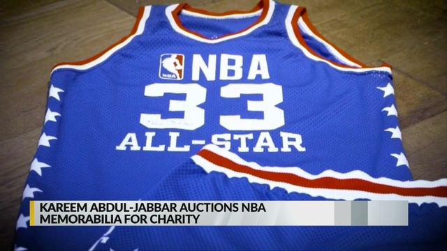 on sale 291b4 bbe38 Kareem Abdul-Jabbar auctions personal items to benefit kids