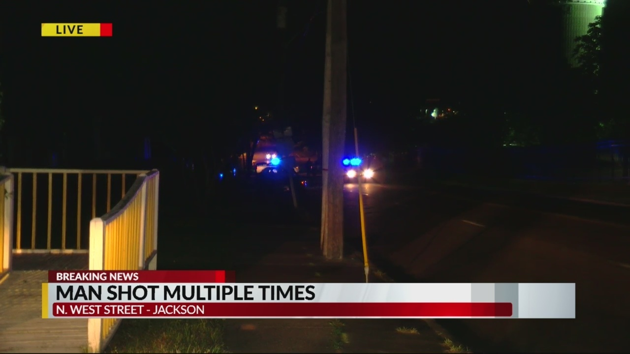 Man shot multiple times on North West Street