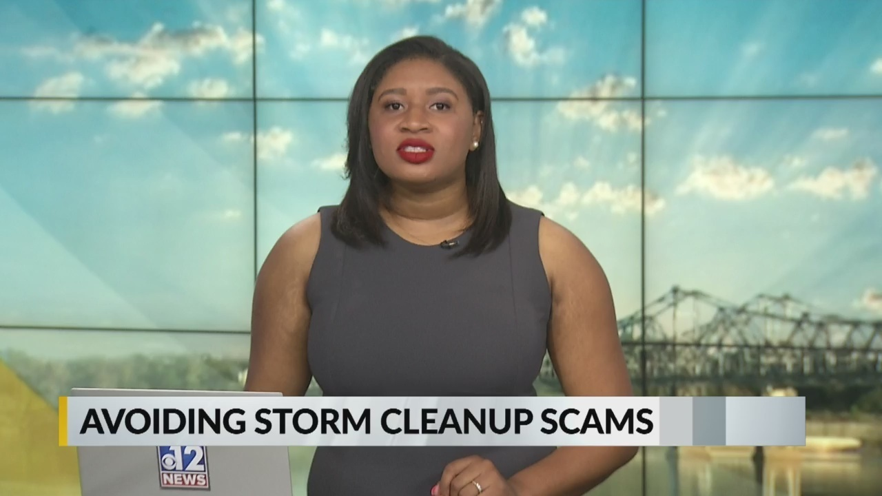 Beware: Storm clean-up scammers on the prowl