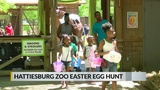 Unusual egg hunt... at the zoo!