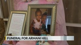 Little girl said to be killed by child abuse is laid to rest